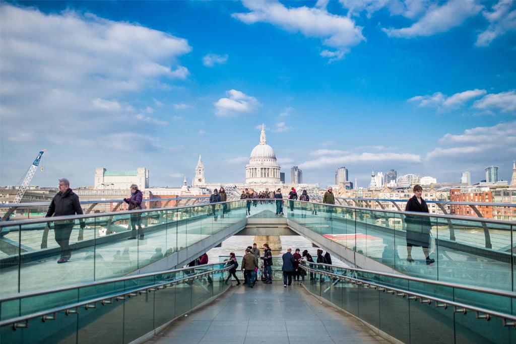 London southbank bridge